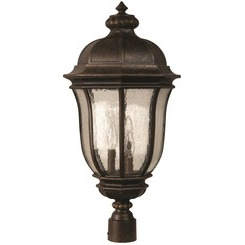 Craftmade Z3325-112 Harper 3 Light Post Mount - Peruvian Bronze