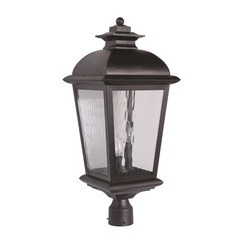 Craftmade Z5725-92 3 Light Post Mount - Oiled Bronze