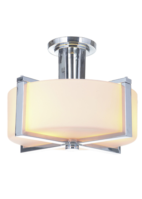 Craftmade 39753-CH 3 Light Semi Flush