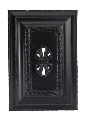 Craftmade CH1201-BK Hand-Carved Rectangle Chime - Black