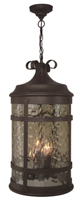 Craftmade Z5011-91 4 Light Pendant - Rustic Iron