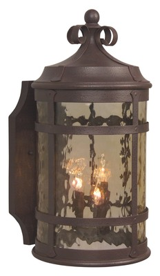 Craftmade Z5024-91 4 Light Large Wall Mount - Rustic Iron