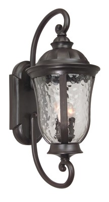 Craftmade Z6020-92 Frances Outdoor 3 Light Large Wall Mount - Oiled Bronze